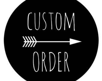 Custom Order for JM • White Gold Polka Dot • Light Pink Faux Fur • Large Swaddle • Girl's Baby Blanket • Girl's Blanket • BizyBelle