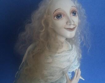 "Ooak Pure Sculpt doll ""Angel of Hope"""