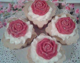 Homemade Soap Cupcakes - Allure