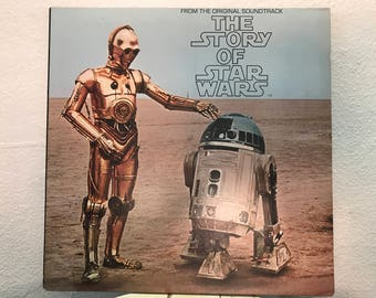 The Story of Star Wars - Original Soundtrack, vinyl record w/ Story Booklet