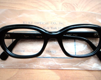 1960s vintage eyeglasses frame new old stock