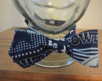Texas Cowboys Bow Tie neck size 14 to 18.5