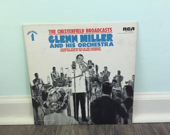 Glenn Miller and his Orchestra Chesterfield Broadcasts vol. 1 vinyl record