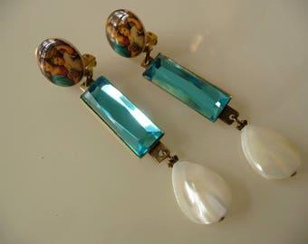 Spring Clip earrings