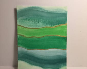 Sedimentary in Green