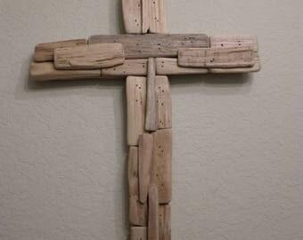 Driftwood - Decorative Driftwood Cross - Wooden Cross