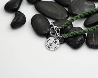 I've Got Your 6  Hand Stamped | Custom | Boot Band Bracelet