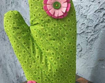 Cactus Oven Mitt