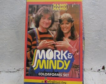 RARE Mork & Mindy Colorforms Set. In Original Box. Wonderful Vintage Condition. 1979