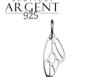 Pendant Silver 925 17.7 X 6.8 mm Wing