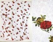 Japanese rose kimono whit...