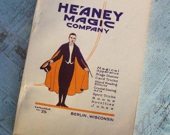 Feb Flash Sale 1924 Paperback Edition Heaney Magic Company Catalog No. 25 -  Berlin Wisconsin