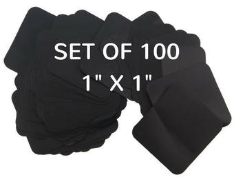 100 Intercept Anti-Tarnish Tabs, 1 inch X 1 inch, Color Changing, Anti Tarnish