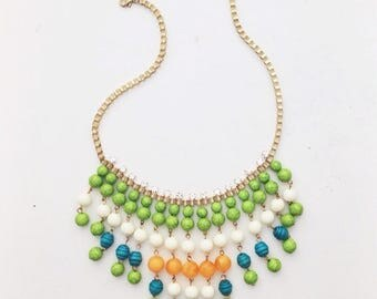 Anthropologie Inspired Tribal Necklace