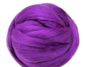 SALE Merino Silk  Roving, (Theater)