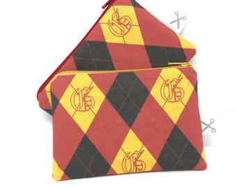 Mini zipper pouch Gryffindor