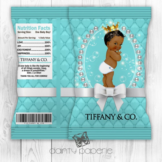 tiffany co potato chip bag printable digital download. Black Bedroom Furniture Sets. Home Design Ideas