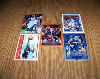 25 Dallas Mavericks Basketball Cards