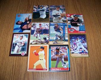 50 Boston Red Sox Baseball Cards