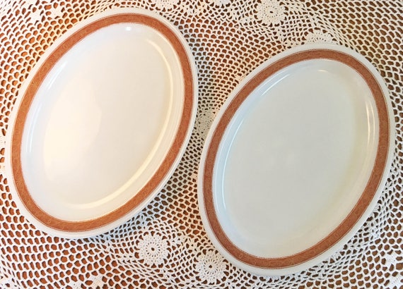Like this item?  sc 1 st  Etsy & Pyrex Bronze Tableware Platters Set of 2
