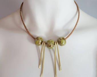 Boho necklace, hippie chic