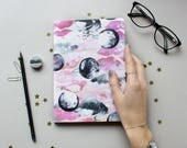 LIMITED EDITION A5 celestial pink planet notebook