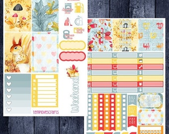 Weekend Sale Fall Woodlands Kit for Happy Planner