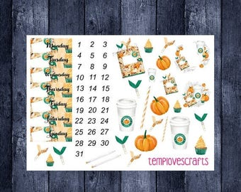 Weekend Sale Pumpkin Spice and Everything Nice Date and Decoration
