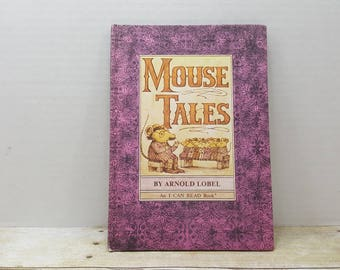 Mouse Tales, 1972, Arnold Lobel, I can read book, vintage kids book