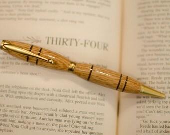 Ballpoint Pen, Ballpoint Pen Art, SlimLine Pen, Wood Turned Pens, Pens, Wood Pen, Office Gifts, Hand Turned Pens, Pens for Gift, OOAK