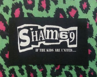 Sham 69 punk patch