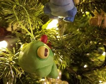 World of Warcraft- Handmade Murloc Ornament - Green