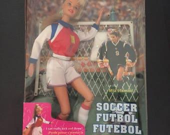 Barbie World Cup Soccer Mia Hamm MIB