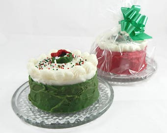 Christmas Cake Gift Set - Choose Your Color