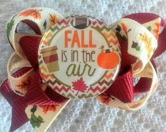 Cynthia Dog Bows- FALL is in THE AIR Boutique Bow