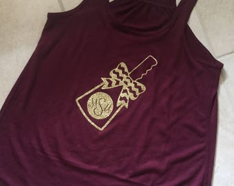 Mississippi State cowbell tank
