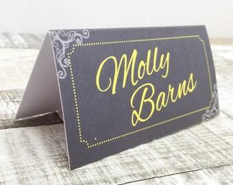 Stylish Wedding Place Cards