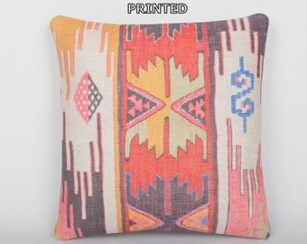 throw pillow turkish bohemian pillow cover retro cushion cover pale kilim pillow rustic pillow green pillow cover chair pillow cover 167-60