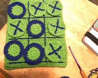 Crocheted Tic Tac Toe