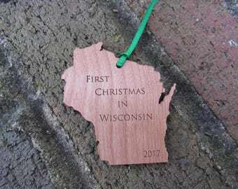 Wisconsin State Ornament