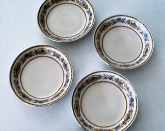 Bawo & Dotter Peronne Limoges Elite France 4 Soup Bowls