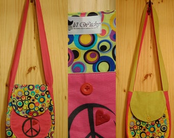 "Li'l Witchy ""Peace Circle"" Bag"