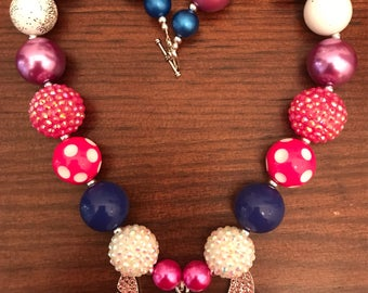 Stitch from Lilo and Stitch inspired Bubble Gum Necklace (Child/Toddler)
