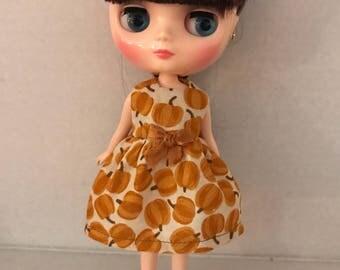Dress for Middie Blythe pumpkins