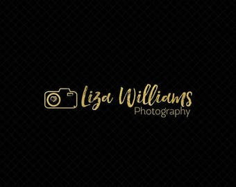 ON SALE Premade Photography Logo + Watermark with Camera - L015