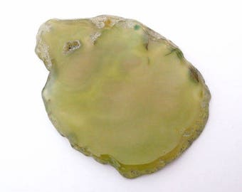 74x53mm natural stone agate slice