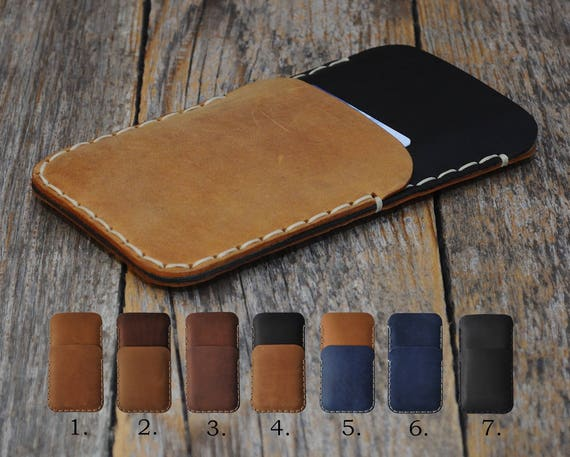 HP Elite x3 Case Cover Wallet Genuine Waxed Leather Sleeve Rough Vintage Style Pouch Custom Sizes