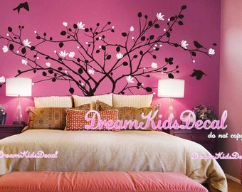 Nursery Wall Decal Kids Wall Sticker - Blossoms Tree decal Nature Design Wall Murals -DK200