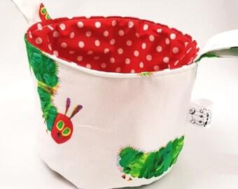 Large Pattern Hungry Caterpillar Fabric Teeny Tub Storage
