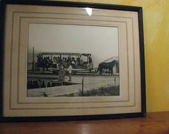 Vintage Black and  White Photograph - Martha's Vineyard